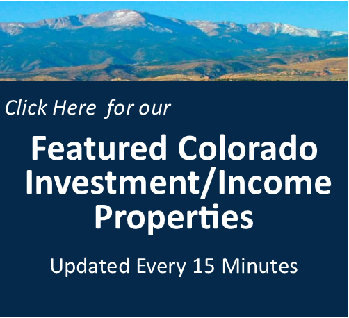 Colorado Springs Investment and Income Property For Sale