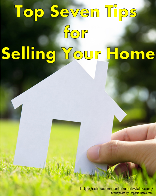 Top Seven Tips for Selling Your Home
