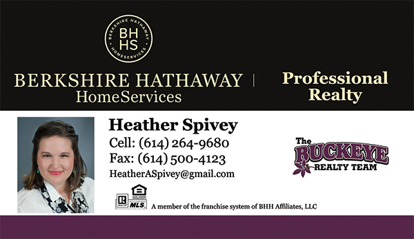 Heather Spivey - The Buckeye Realty Team - Berkshire Hathaway HomeServices Professional Realty