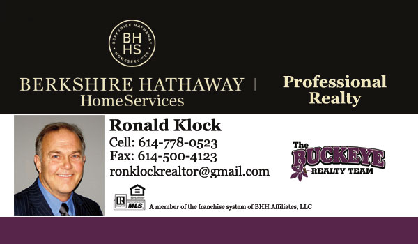 Ron Klock Realtor - Berkshire Hathaway HomeServices Professional Realty