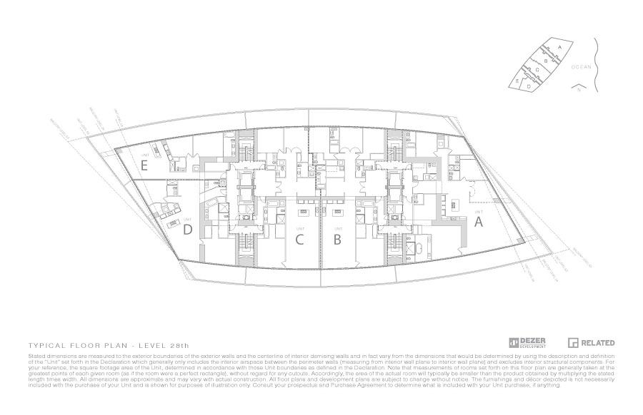 Floor Plan Armani Casa