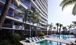Aurora New Construction Condominium pool deck