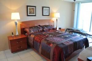 Master Bedroom De Soto condo 508
