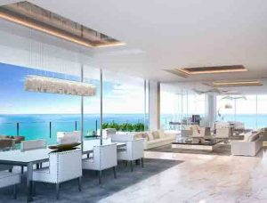 Beach front luxury Muse condos
