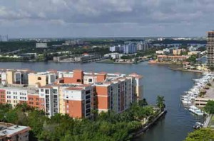 Intracoastal view from Winston Towers 300