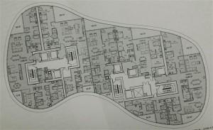Flow through floor plan Ritz-Carlton