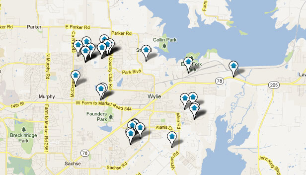 Wylie TX Real Estate and Home Search Results