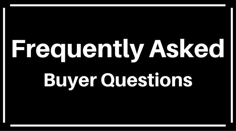FAQ for buyers