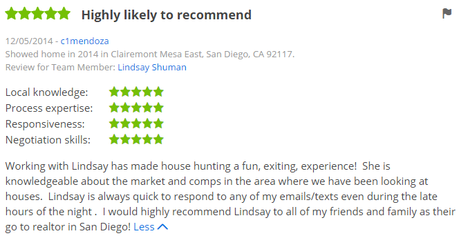 San Diego Zillow Agents in Clairemont - 5 Star Zillow Agents in Caliremont Mesa San Diego CA - The Lewis Team San Diego