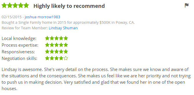 San Diego Zillow Premier Agents in San Diego - 5 Star Zillow Agents in Poway - The Lewis Team San Diego