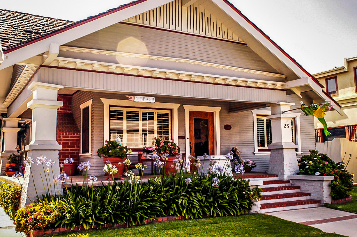 Long Beach Craftsman Bungalow