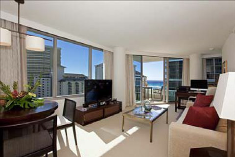 Trump Tower Living Room Unit 1322
