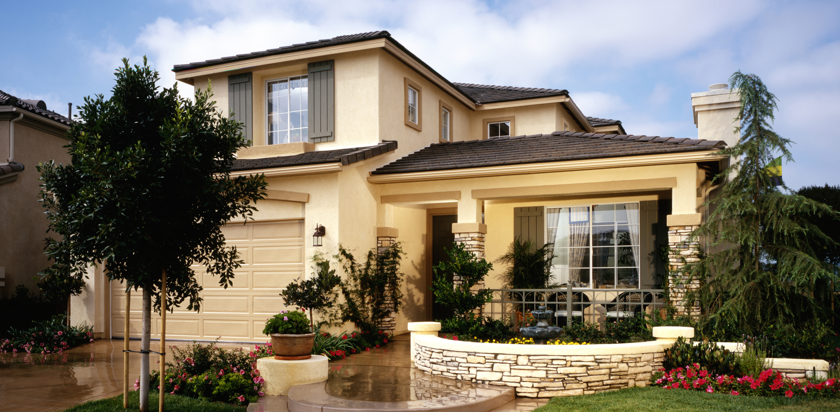 Rancho cucamonga real estate search all upland homes and for Landscape rock upland ca