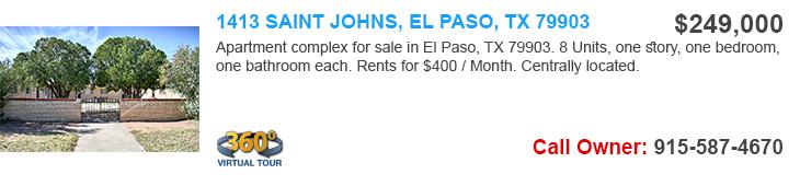 el paso apartments for sale