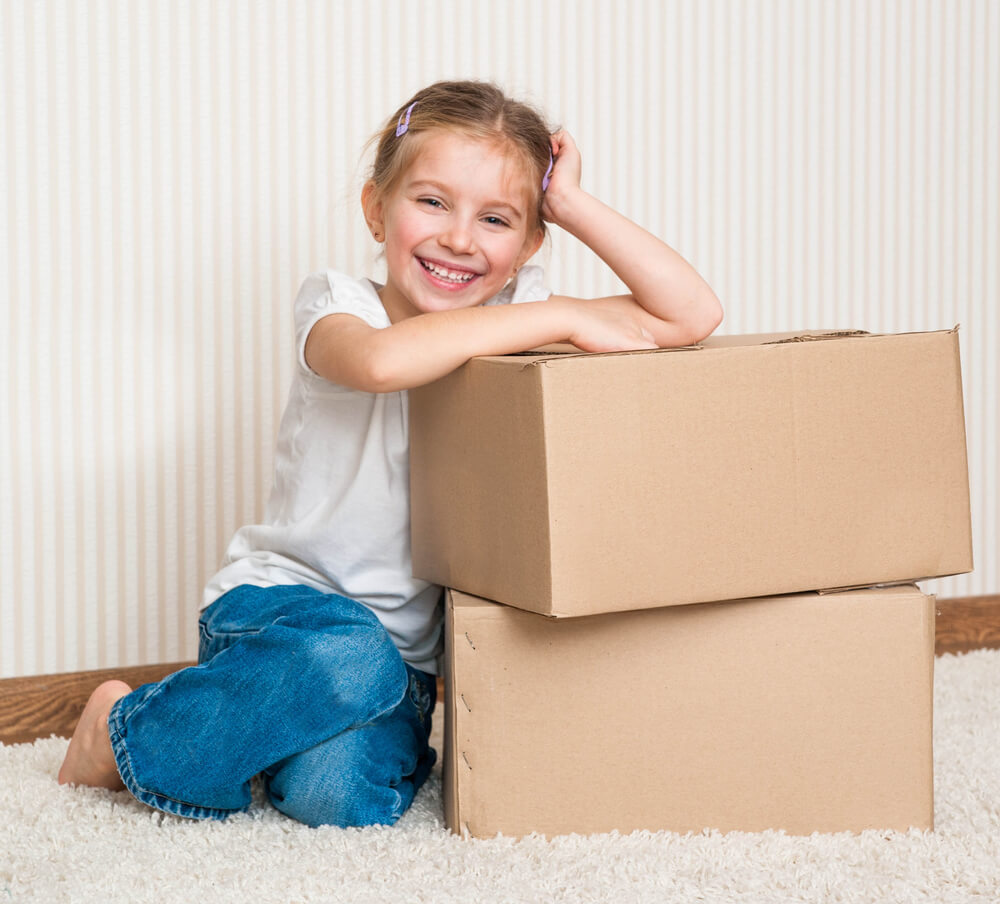 Tips to help your child settle into a new home
