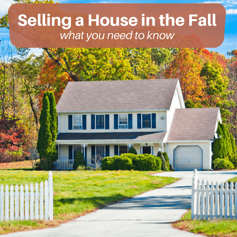 What you need to know about selling your home in fall