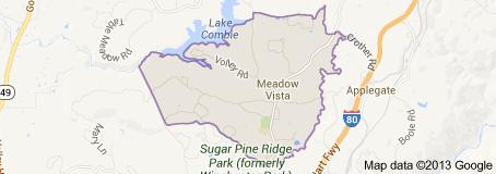 Meadow Vista Real Estate Map Search