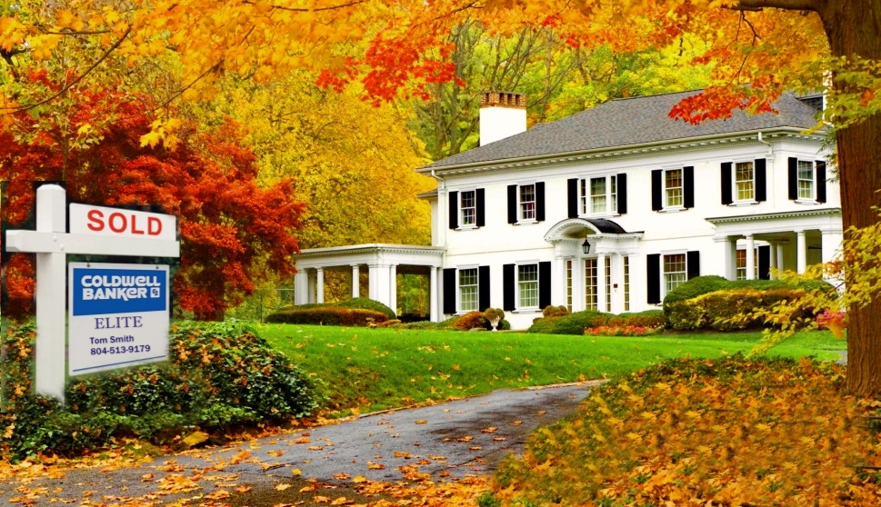 Fall Home Image for Fredericksburg Realty LLC Blog Post