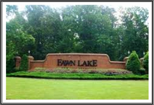Fawn Lake Spotsylvania Community Gate Sign
