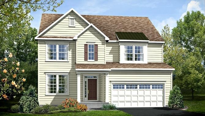 Summerfield Fredericksburg New Home Design Image