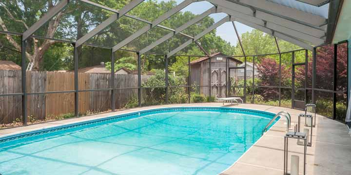 Swimming pool at 803 Knowles Ave in Pensacola