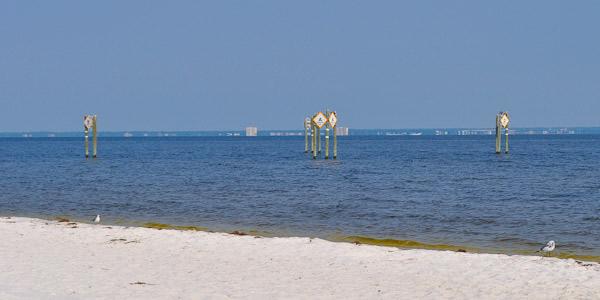 Snorkeling Reef at Pensacola Beach West End Park