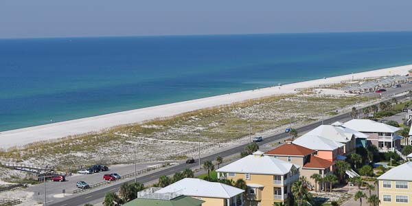 Florida Gulf from Tristan Towers Condominiums