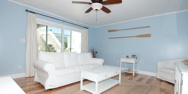 Boardwalk condo living room