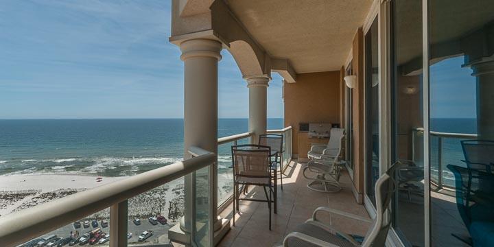 View from Portofino condo 1408 balcony