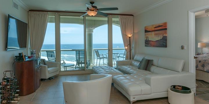 View of the Gulf from a Portofino Condominium