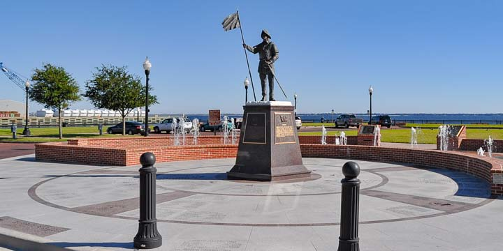 Pensacola Ferry Landing at Plaza De Luna