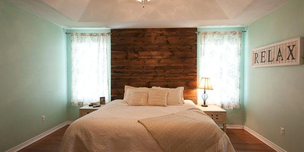 Master bedroom at Sterling Way, Pensacola