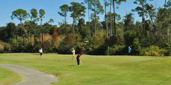 Green at Scenic Hills Country Club