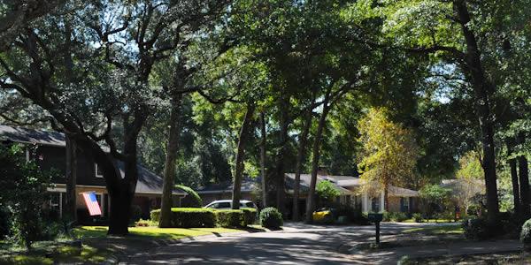 Homes in a quiet Scenic Hwy neighborhood