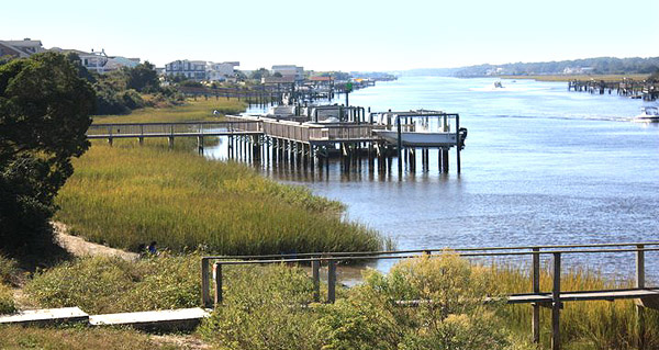 Holden Beach Waterway homes