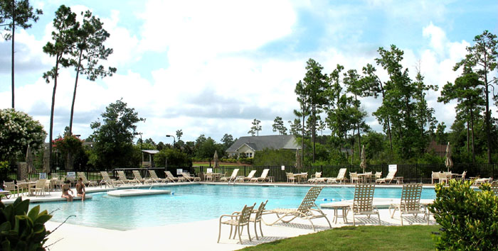 Pool in Palmetto Creek of the Carolinas