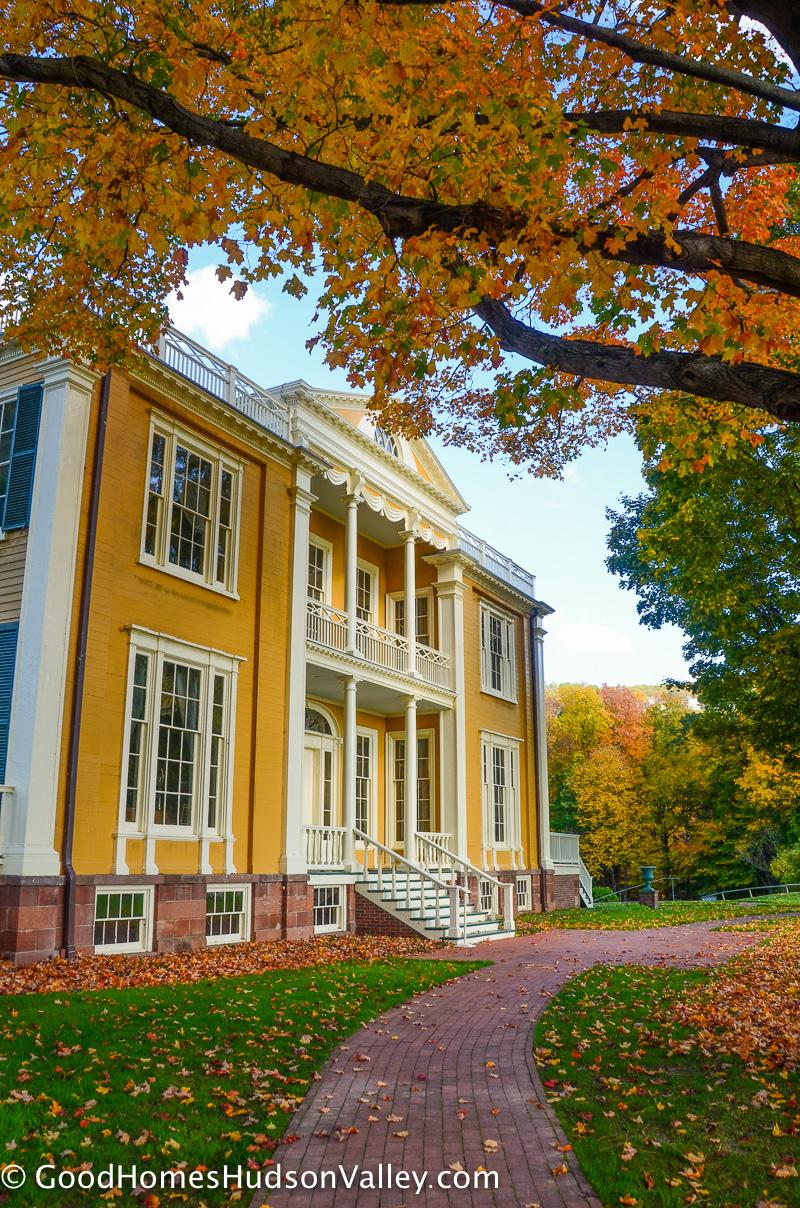 The Boscobel Mansion in Garrison New York