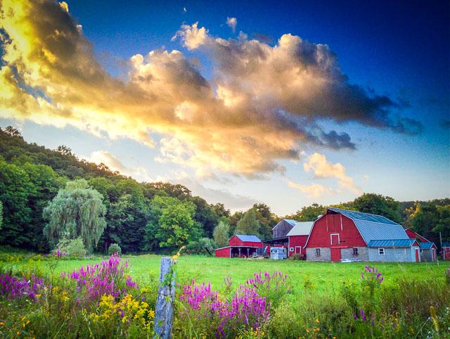 Dutchess County New York Countryside