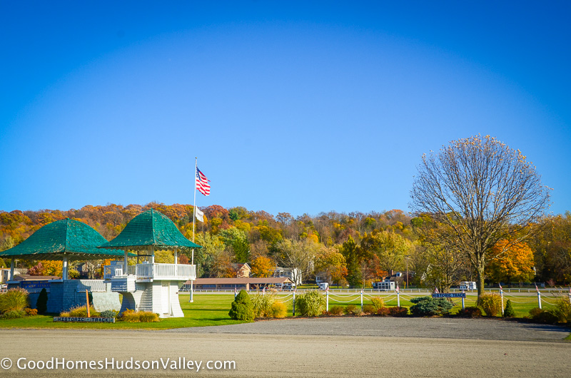The Harness Race Track in Goshen