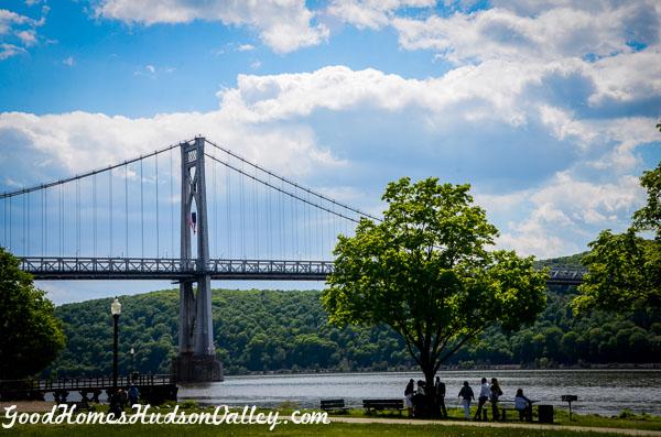 Poughkeepsie New York Mid Hudson Bridge