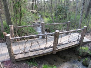 Cliffs Valley Walking Bridge
