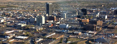 Amarillo Downtown Area
