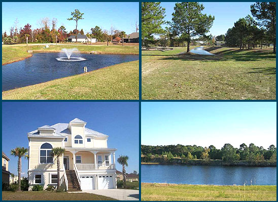 Homesites in The Bluffs on the Waterway