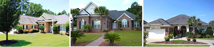 Homes in Covington Lake in Myrtle Beach