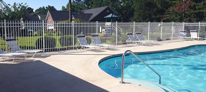 Pool at Covington Lake Carolina Forest