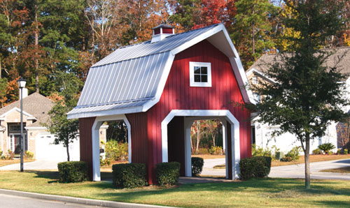 Red Barn Gazebo at The Farm