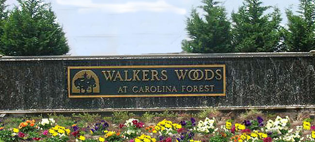 Walkers Woods in Carolina Forest