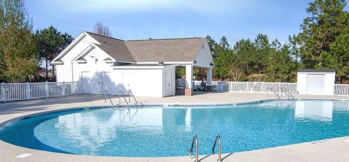 Pool in Hillsborough Subdivision, Conway