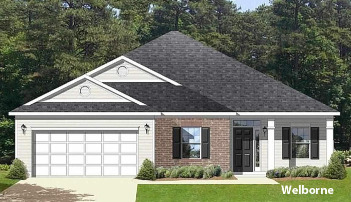 New Home Models in Hillsborough, Conway