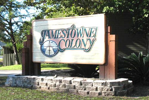 Jamestowne Colony Entrance
